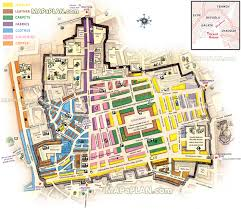 istanbul map grand bazaar kapalicarsi shops overview showing