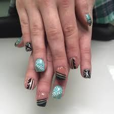 84 cute colorful tribal nail art designs for summer 2017 cute