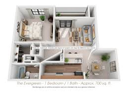 Unusual Floor Plans by Floor Plans Evergreen Club Apartments