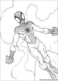 spiderman color book children books