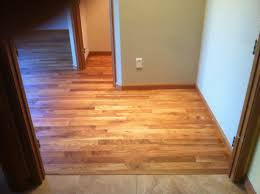 white oak install sand and finish with paragon