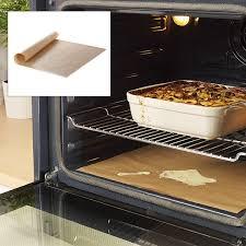 four de cuisine feuille de protection pour four anti adhérente et réutilisable