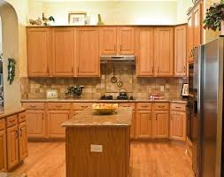 light oak cabinet kitchen ideas kitchen backsplash ideas with oak cabinets backsplash with