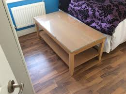 kent solid ash table clock coffee table second hand household furniture buy and sell in kent