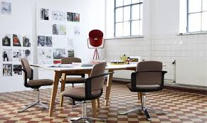Dining Room Table With Swivel Chairs by Stunning Living Or Gathering Space Offer Attractive Brown Plaid