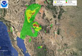 Arizona Weather Map by U S Air Quality June 2016 Archives