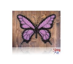 diy string art kit butterfly string art butterfly diy kit