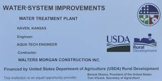 United States Department Of Agriculture Rural Development by Haven Water Treatment Plant Project Haven Kansas