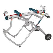 bosch gravity rise miter saw stand with wheels t4b the home depot