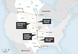 keystone xl pipeline map map transcanada s keystone pipeline npr