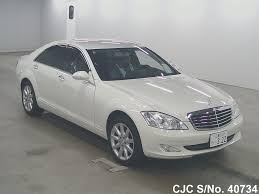 mercedes s class 2007 for sale 2007 left mercedes s class white for sale stock no