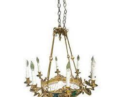 hollywood regency swag l vintage hollywood regency chandelier etsy