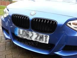 bmw grill gloss black bmw 1er f20 f21 m sport front grills grille 2011 120d