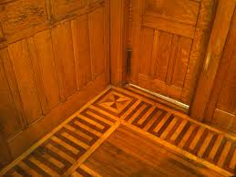 parquet flooring hardwood floor border medallion inlays late