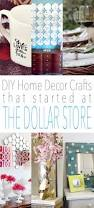diy home decor crafts that started at the dollar store the