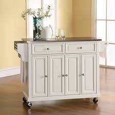 Kitchen Island With Stainless Steel Top Wellman Stainless Steel Top Kitchen Island Jcpenney