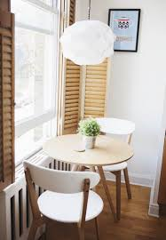 kitchen breakfast nook for two with iron wood dining chairs also