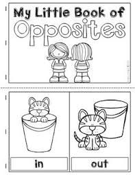 learning about opposites poster set pairing cards u0026 a student