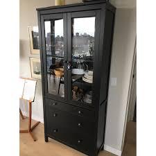 ikea hemnes glass door cabinet ikea hemnes glass door cabinet w 3 drawers in aptdeco