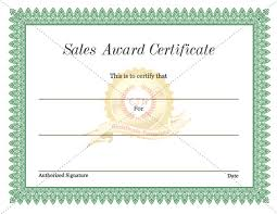 sle certificate of recognition template sales certificate template expin franklinfire co