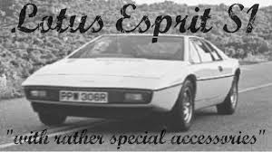 lotus esprit s1 rigs of rods youtube