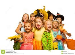 Funny Kids Costumes Girls Boys Funny Halloween Costume by Funny Kids In Halloween Costumes Stock Photo Image 44416099