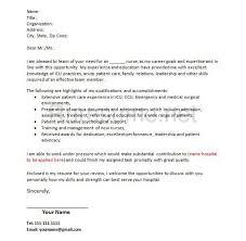cover letter for new nurse scrub nurse cover letter new graduate