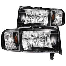 dodge ram headlight ram 2500 3500 anzo headlights black w corner light 111067