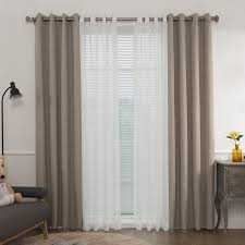 Best Home Fashion Curtains Best Home Fashion Inc Mix And Match Muji Solid Blackout Thermal