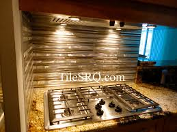 Aluminum Backsplash Kitchen Tile Sarasota This Is A Anodized Aluminum Tile Backsplash That