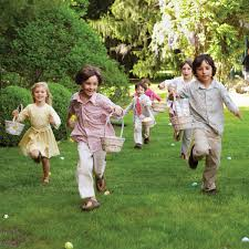 kids easter easter egg hunt martha stewart