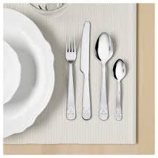 ätbart 24 piece cutlery set stainless steel ikea