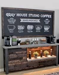diy coffee bar breakfast nooks coffee shop and nook