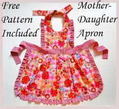 madison girls dress pattern free mother daughter apron