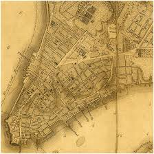 Old Map New York City by New York 1776 Bernard Ratzer Plan Battlemaps Us