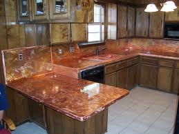 copper counter tops u0026 islands the copper backsplash company
