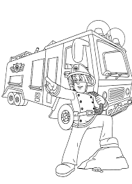 fire truck coloring pages coloringsuite