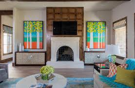 Colorful Interiors Colorful Keller Contemporary Interior Design Dallas Barbara