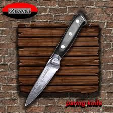 paring knife 9 cm blade japanese damascus stainless steel vg10 kitchen