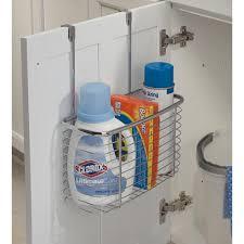 Cabinet Door Basket Axis Chrome Cabinet Storage Basket In Cabinet Door