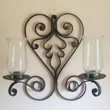 Candle Wall Sconces Wrought Iron Candle Wall Sconces Uk Modern Wall Sconce Candle Foter Holder