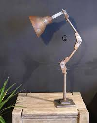 wall light anglepoise machinist style ant iron 1000mm cottingham