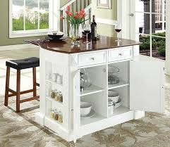 movable kitchen island with breakfast bar movable kitchen island with breakfast bar in white finish home