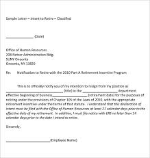 sample retirement letters 2016 best business template