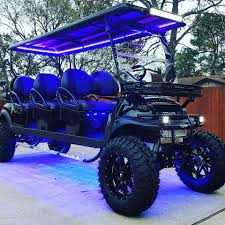 stretched limo golf carts gallery