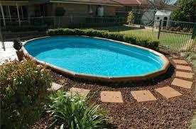 backyard above ground pool designs interior design