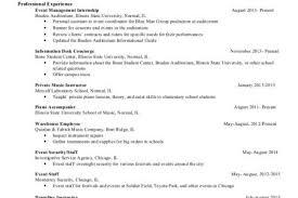 music business resume templates reentrycorps