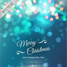 christmas card with sparkles vector free download