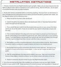 rigid industries backup light kit rigid industries sr q back up lights install 09 14 ford f150