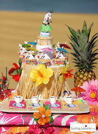 Luau Cake Decorations Disney Frozen Summer Birthday Party Ideas Luau Party
